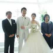 娘の結婚式の感動をおすそ分けのタイトル画像