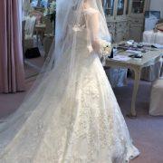 入会7か月で成婚!目標のドレスの試着に行きました。のタイトル画像